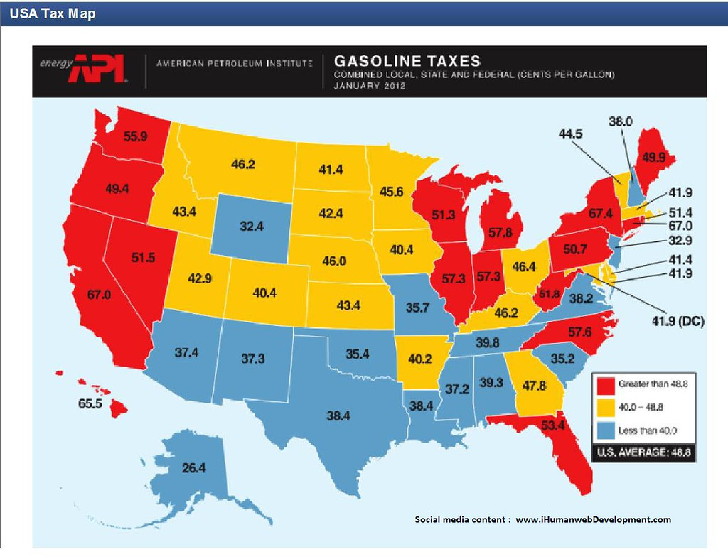 U S Gas Tax By State Car Costs Climb Gas Prices At The P Flickr