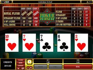 Poker Persuit