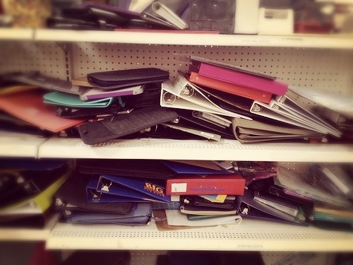 Back-to-school thrifting