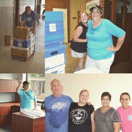 Education faculty move into their new home today. #centerforteachereducation #newberry_college #ncteachers