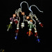 Multi-color crystals and copper beads earrings - DSC_1817.jpg