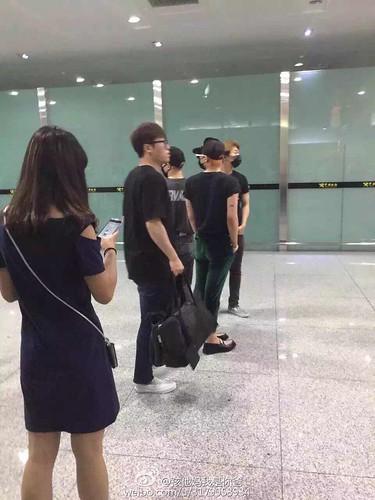 BIGBANG Arrival Dalian from Seoul 2015-06-26 155