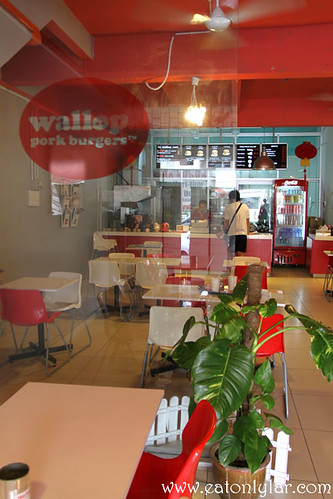 Interior, Wallop Pork Burger