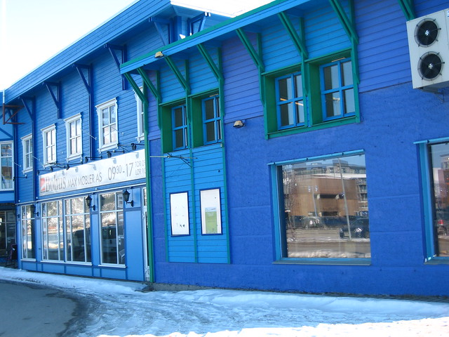 Sortland, the Blue Town, Arctic Norway