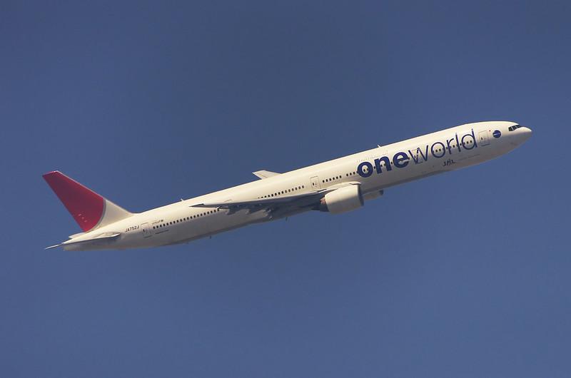 ⑥JAL 777-300 One World 塗装(レタッチ版)
