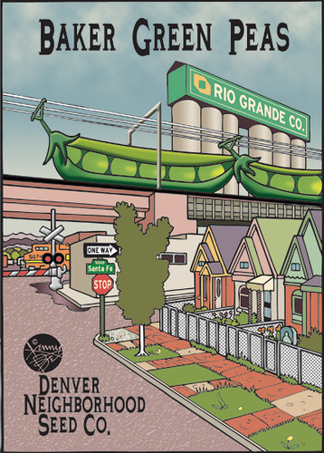 Kenny Be - Denver Neighborhoods Seed Packets