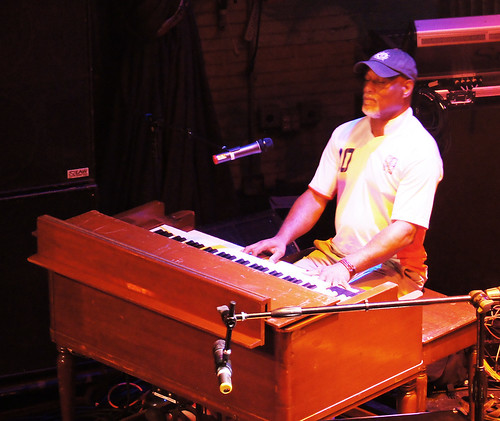 Ike Stubblefield plays the main stage at the HOB for Piano night. photo Bill Sasser