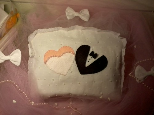 Necessaire noiva!! by ♥Paninhos em forma de amor♥