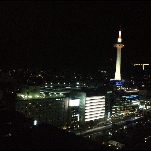 Kyoto Tower #kyoto #japan #japon