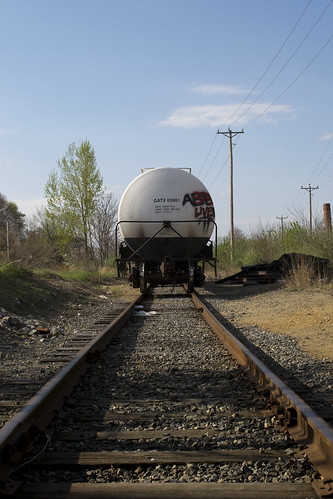 railroad white cars downtown tank state steel main tracks newhampshire railway nh line end concord freight waggon negs