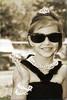 Ella as Audrey Hepburn #7 Ella having a