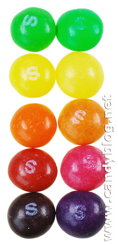 Skittles - US Fruits & European Crazy Sours