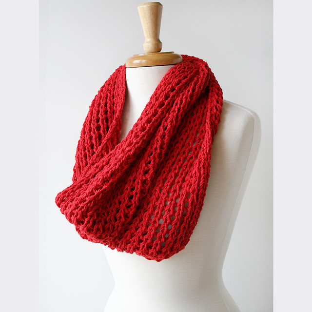 Knitting Pattern For A Cowl Neck Scarf : Cowl-Neck Hand-Knit Scarf - Raw Silk Flickr - Photo Sharing!