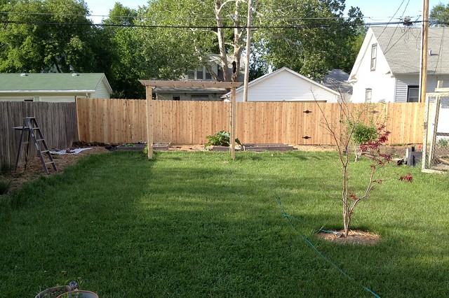Yard Progress 2012