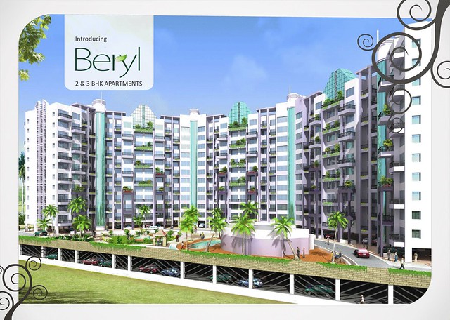 Kolte-Patil Beryl 3 BHK Flats  - 1555 saleable Rs. 78.8 Lakh Onward & 1715 Saleable Rs. 86.3 Lakh Onward -  at Kharadi Pune 411 014 - 7