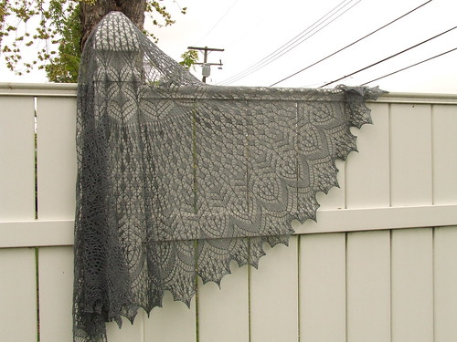 Vernal Equinox Shawl