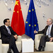 President Van Rompuy during his meeting with Vice Premier of the People's Republic of China, Li Keqiang, Brussels, 3 May 2012