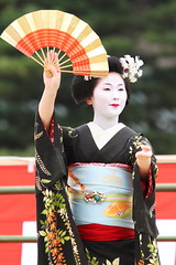 Maiko dance performance