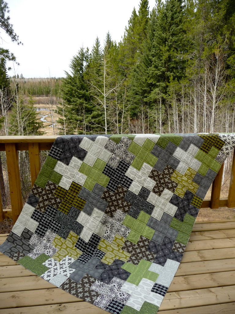 Cora quilts curious nature for boys for Minecraft fabric by the yard