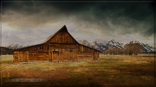 Teton Barn by Just Used Pixels
