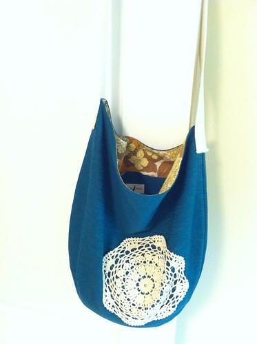 Vintage doily bag