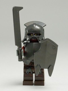 Uruk-hai (with full armor and sword)