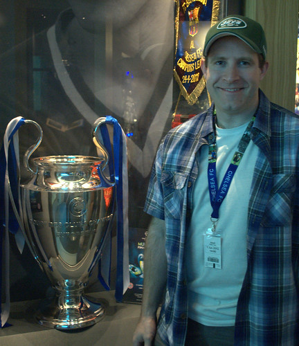 Chelsea's Champions League trophy