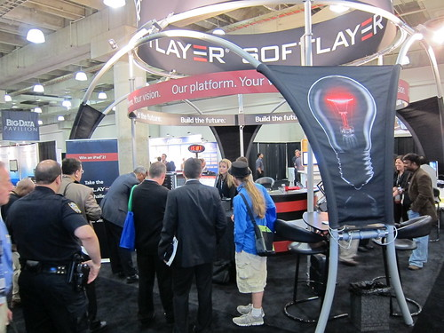 SoftLayer Booth
