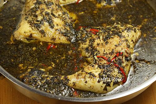 胡蘿蔔葉[偽]雪裡紅煮雞腿-1206
