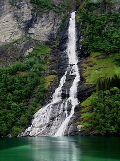 Fyord Waterfall, Norway