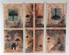 Arte contemporáneo con inspiración Maya y Jomon