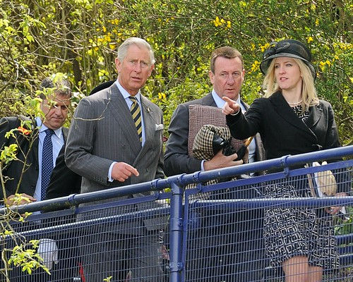 Prince Charles leaving Burnley by Andy Pritchard - Barrowford
