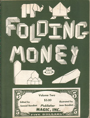 Folding money book