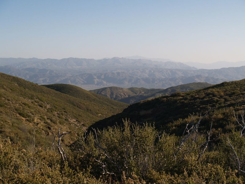 View from the PCT - Toro Peak in the distance