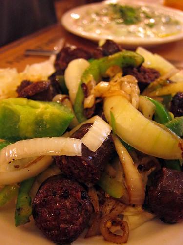sausage @ Armenian Tavern