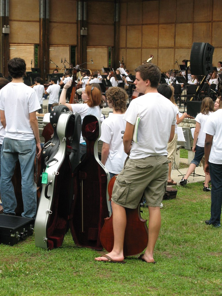 Youth Orchestra concert is held at the Heritage Amphitheatre.