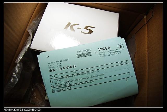 終於入手k-5第一張照片的快門數是1,另外有什麼要注意的呢?