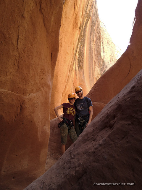 Canyonnering at Escalante National Monument 09