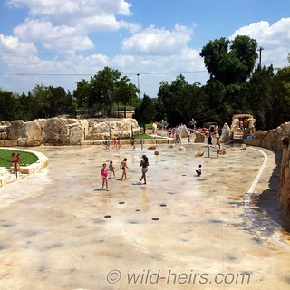 View of Quarry Splash Pad in Leander, TX