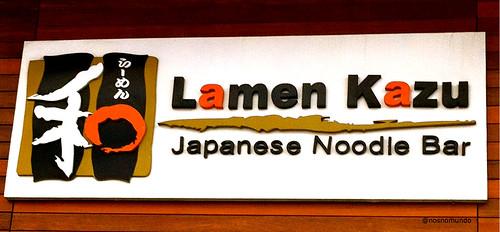 Lamen Kazu - Restaurante na Liberdade