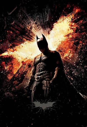 Dark Knight Rises Batman poster