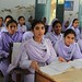 Girls in school in Khyber Pakhtunkhwa, Pakistan