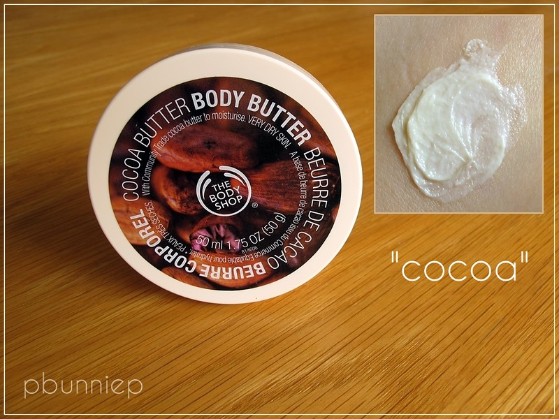 The Body Shop_Cocoa Butter body butter