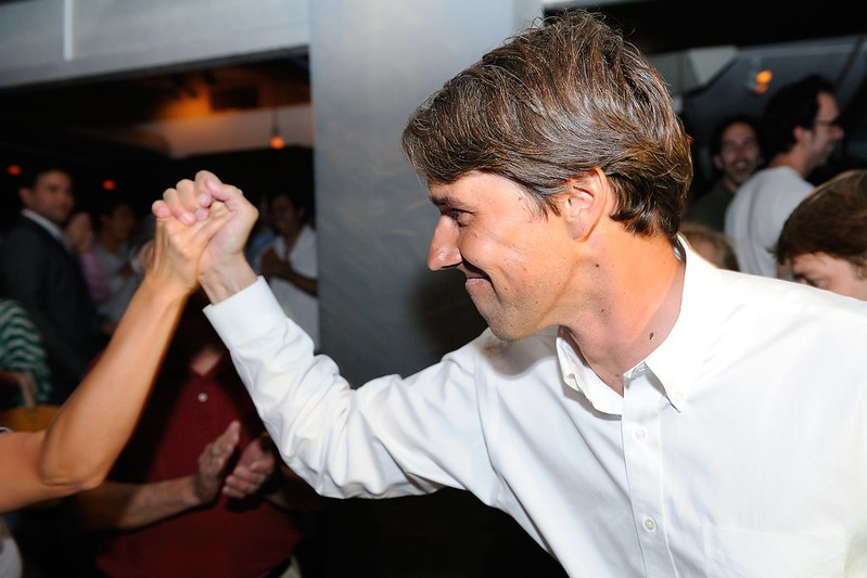 Beto O'Rourke Primary Election Victory Party