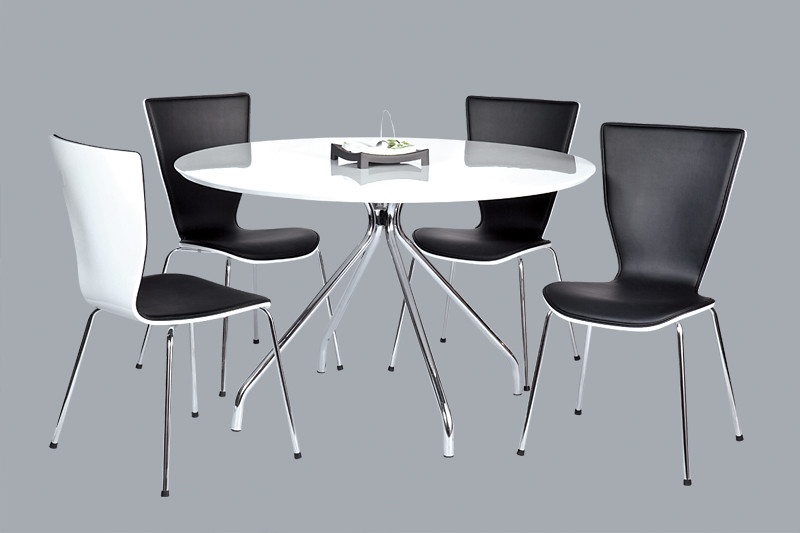 4585 BLACK AND WHITE DINING SET • View on Flickr