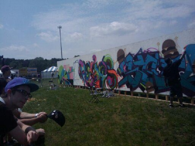 Soundset Graffiti Wall