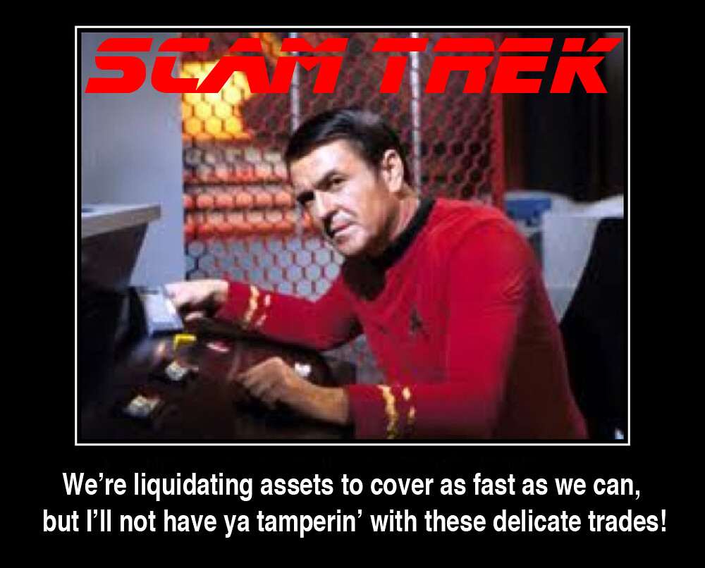 SCAM TREK SCOTTY