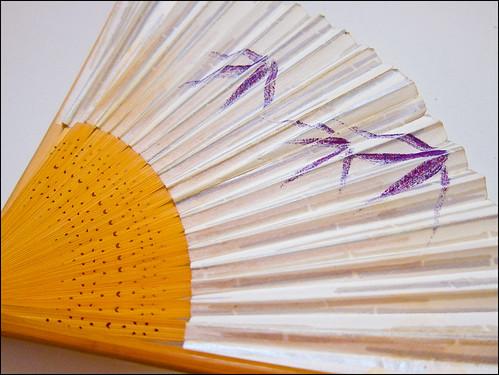Abanico típico japonés