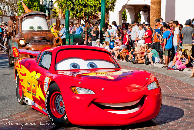 Pixar Play Parade 2012 - Lightning McQueen