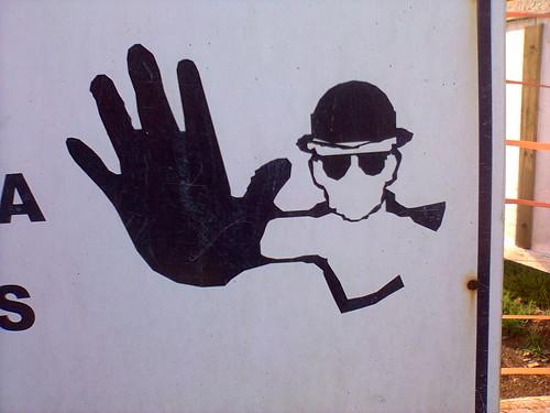 Fale com a minha mão - Talk to the hand